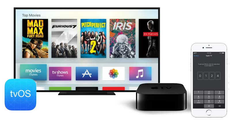 use iphone 8 as an apple tv remote