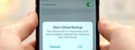 backup iphone 8 to icloud