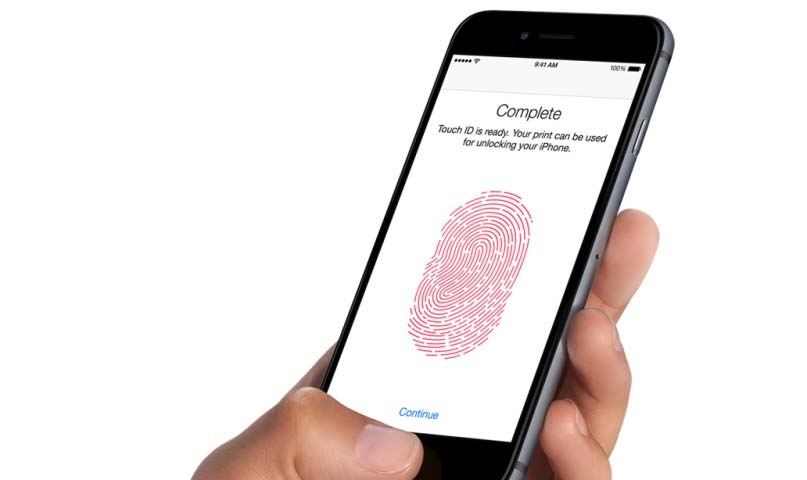 set up touch id on iphone 8