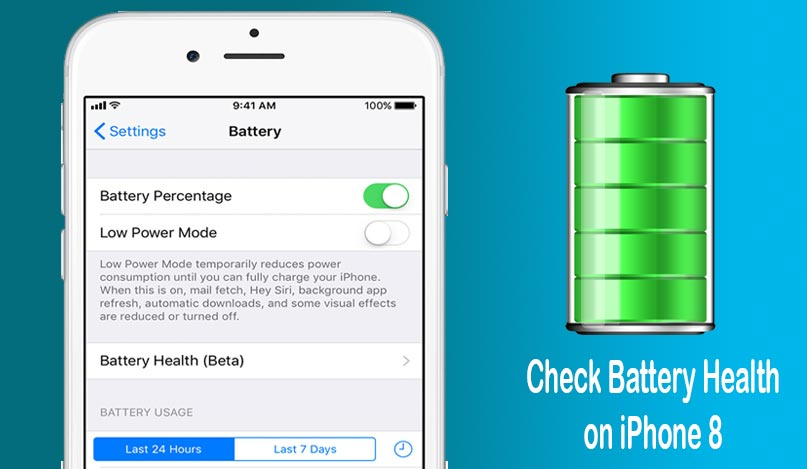 check iphone 8 battery health
