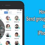 How to Send Group Text Messages on iPhone 8 Easily