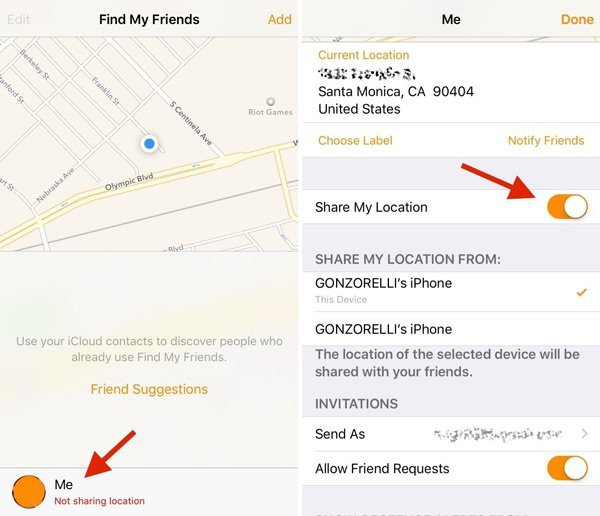 How to stop sharing location without them knowing